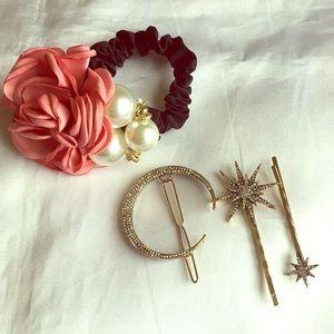 Hair accessories set ❤️💖💗💖❤️